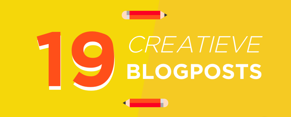 Blog 19 creatieve blogposts