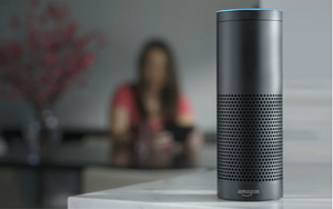 Amazon Echo en voice assistant Alexa