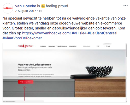 B2B communicatie - omnichannel - Van Hoecke