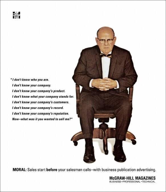 B2B marketing - corporate advertising - McGraw Hill Magazine
