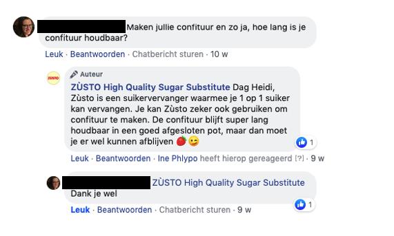 Q&A Zùsto