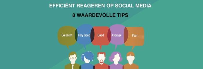Efficiënt reageren op social media: 8 waardevolle tips
