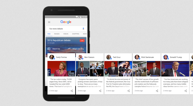 Google Posts - Presidential Cards