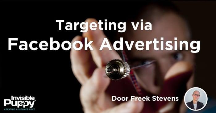Targeting via  Facebook Advertising
