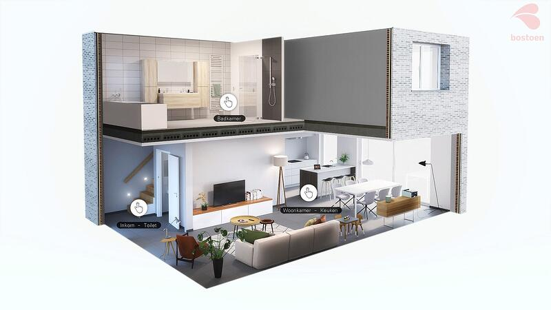Bostoen Virtual Reality kijkwoning