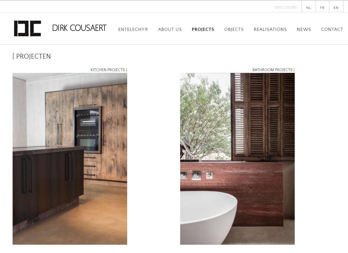 Website Dirk Cousaert