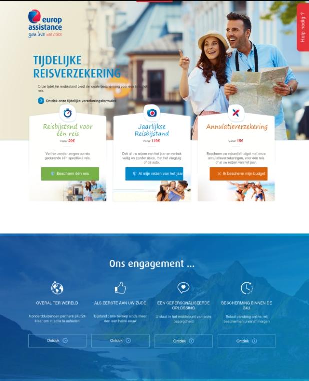 Website EuropAssistance