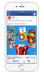 Facebook Chatbot voorbeeld