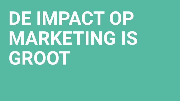 digital transformation - impact marketing sales