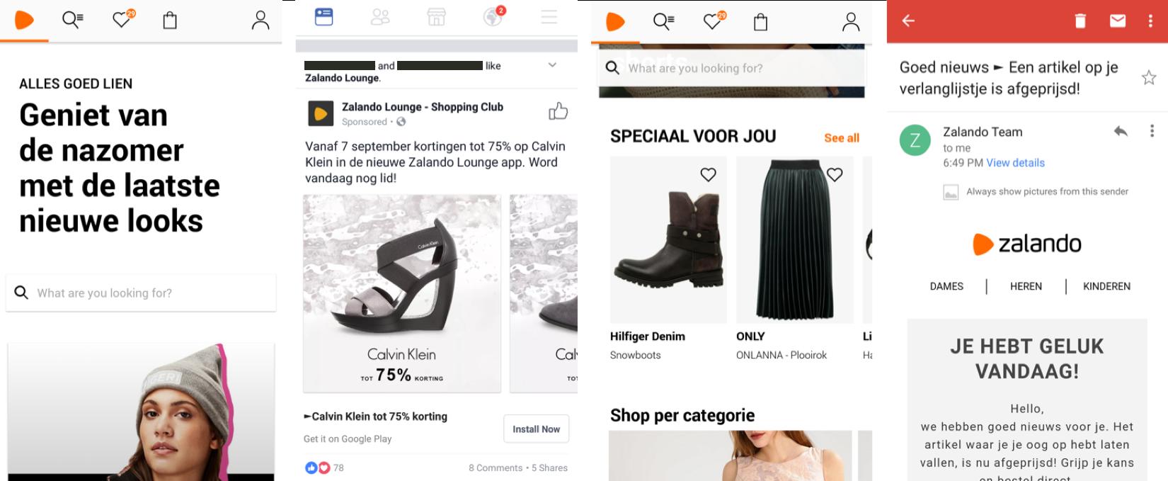 Mobile Marketing - Zalando