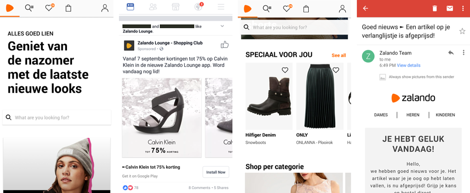Mobile Marketing - Zalando
