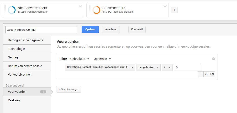 Segment-geconverteerde-contacten-google-analytics