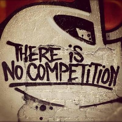 Er is altijd concurrentie