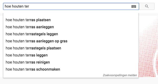 YouTube Suggest gebruiken voor keyword research