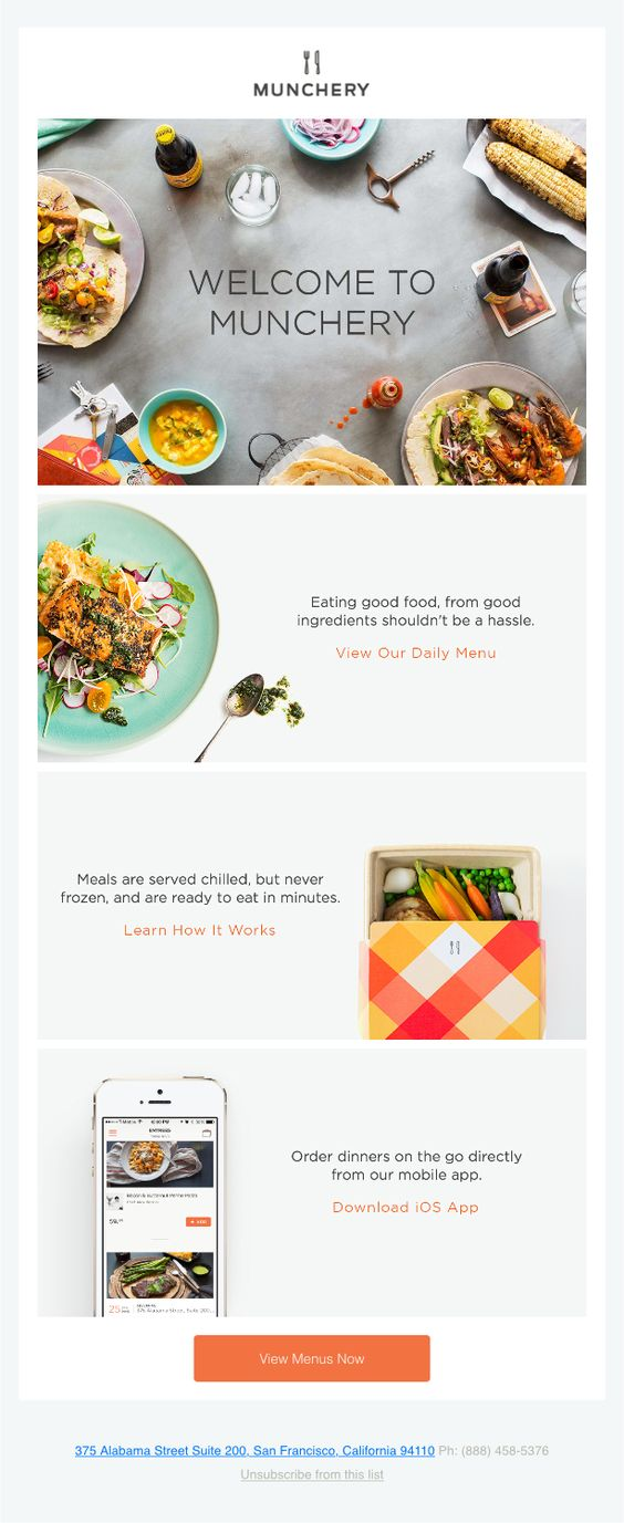 Emaildesign-zigzag-model-munchery
