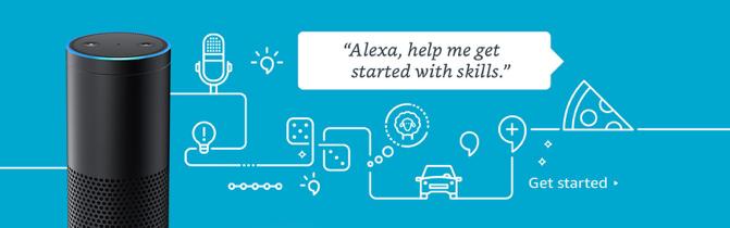 Alexa Skills voor online marketing