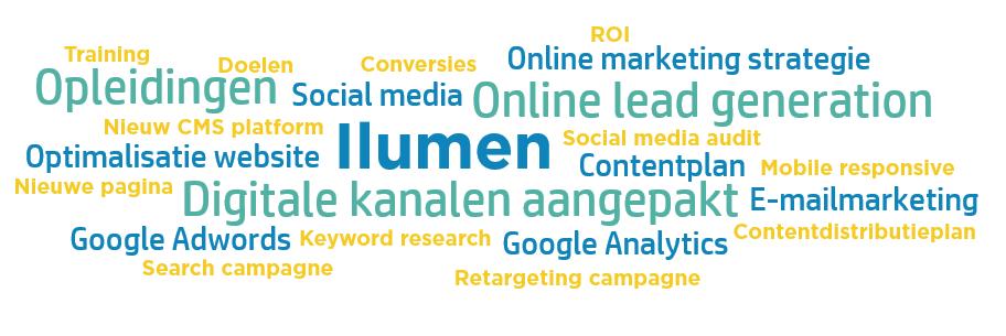 Wordcloud Ilumen