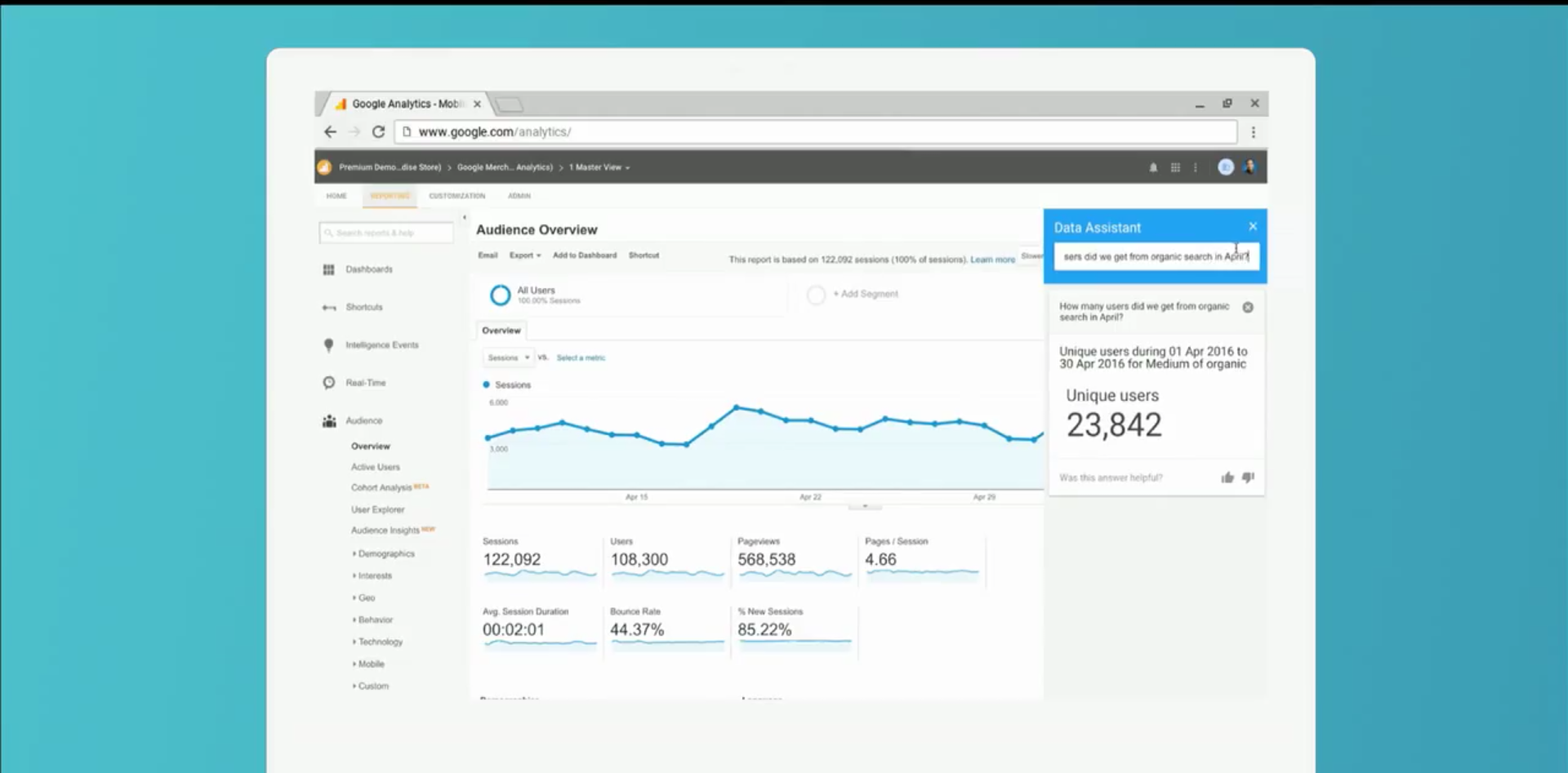 Google Data Assistant