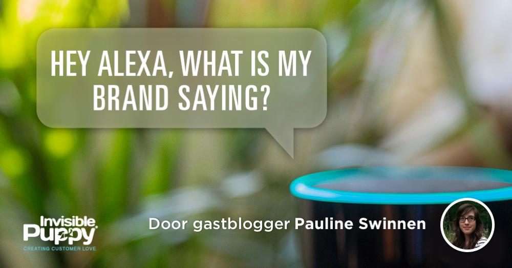 Pauline Swinnen Over Voice Search In Belgie