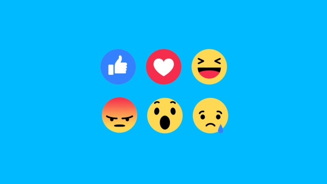 Facebook Reactions, een maand later