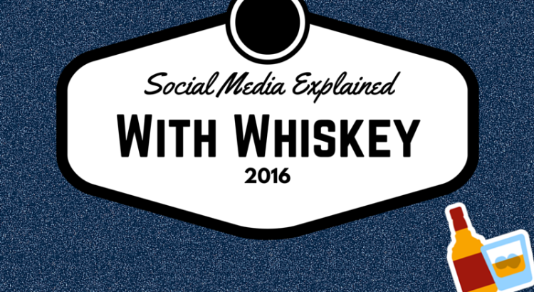 Infographic: social media op basis van whiskey
