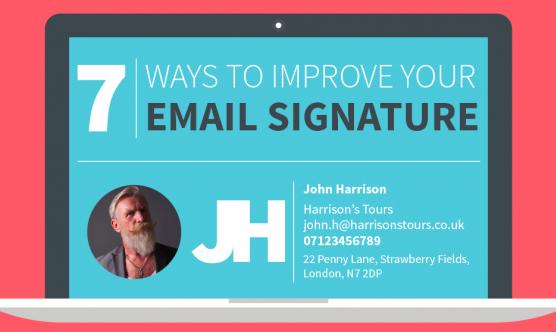 Infographic: e-mailhandtekening optimaliseren