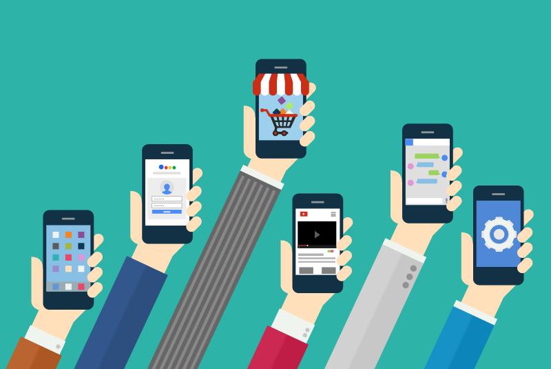 Infographic: mobiele marketingcijfers in beeld