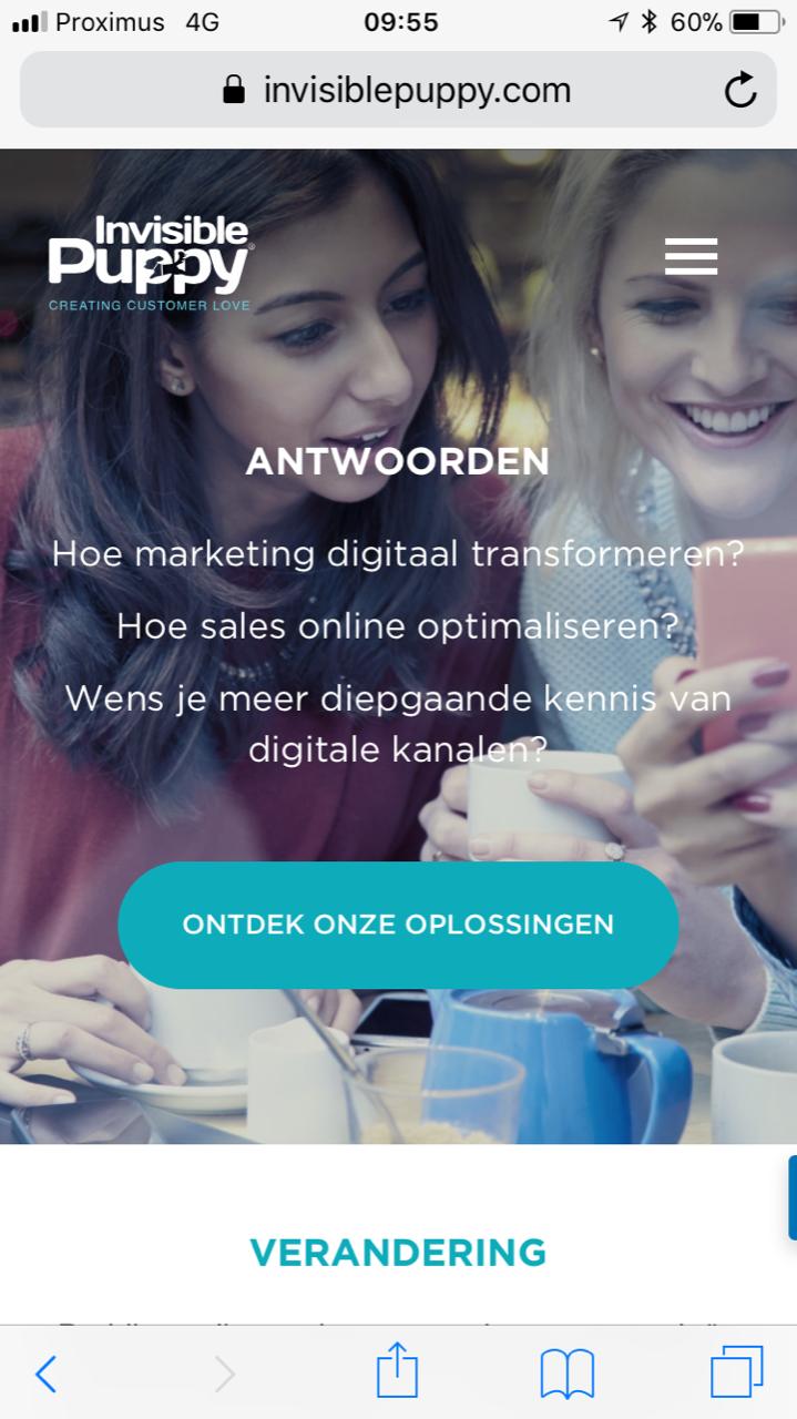 Mobile marketing advertenties